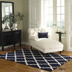 nuLOOM Hand-hooked Alexa Moroccan Trellis Wool Rug (5' x 8') | Overstock.com Shopping - The Best Deals on 5x8 - 6x9 Rugs