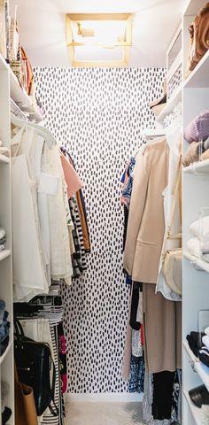 Closet Makeover + Organization Tips for an Efficient Tiny Closet | Diana Elizabeth