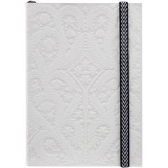 Christian Lacroix A6 Paseo Embossed Notebook - Pastis (€17) ❤ liked on Polyvore featuring home, home decor, stationery, fillers, books, items and notebooks