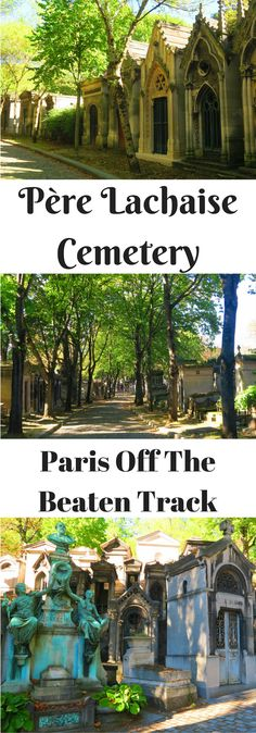 Explore the 'celebrity cemetery' of Paris, paying a visit to Oscar Wilde, Edith Piaf, Jim Morrison & more in the Père Lachaise Cemetery!