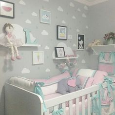 Best Baby Room Decorating Game Ideas Do It Yourself nursery as well as baby room decorating! Baby Nursery Furniture, Baby Nursery Decor, Baby Decor, Nursery Room, Gray Bedroom, Kids Bedroom, Baby Room Colors, Baby Boy Nurseries, Girl Room