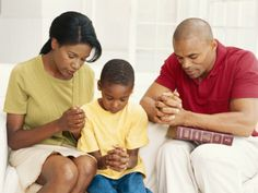 A faithful praying family