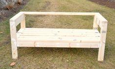 2×4材オンリーでガーデンベンチをDIY