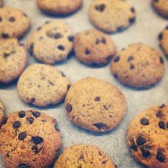 biscotti grano saraceno semi di lino e cioccolato fondente