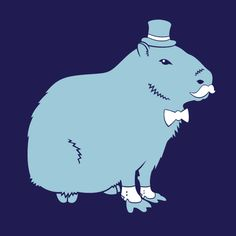 Sir Capybara t-shirt from Sir Critter