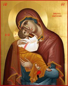 Byzantine Icons, Byzantine Art, Blessed Mother Mary, Blessed Virgin Mary, Religious Icons, Religious Art, Christ The Good Shepherd, Religion Catolica, Jesus Christus