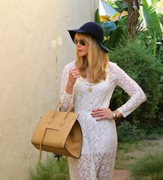 #jenknowsbest #jenandrews #streetstyle #style #lace #maxi #white @· ZARA · #bag #celine #blog #blogger #fashionblogger www.jenknowsbest.com