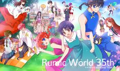 #Rumiko Takahashi#rumic world