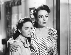 "Ann Blyth and Joan Crawford in ""Mildred Pierce"" - 1945"