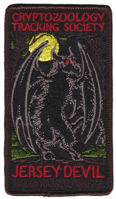 MAIDEN VOYAGE JERSEY DEVIL PATCH - Sourpuss Clothing