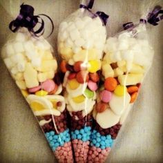 Filled sweet cones <3