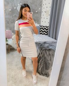 Formal Outfit For Teens, Modest Casual Outfits, Long Skirt Outfits, Modest Wear, Edgy Outfits, Modest Fashion, Outfits For Teens, Girl Outfits, Fashion Outfits