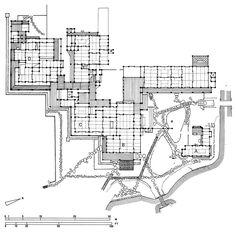 Plan de la villa impériale de Katsura