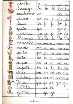 Tia da Creche: CARTILHA CAMINHA SUAVE... Messages, Gisele, Sons, Sentence Writing, Alphabet, Teaching Letters, Index Cards, My Son