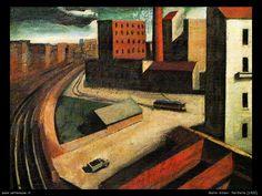 Mario Sironi (1885-1961) – Periferia (1922) Collection privée