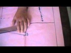 patrón del Pantalon de niño o niña.wmv - YouTube