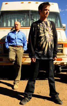 Bryan Cranston and Aaron Paul, Breaking Bad