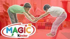 Partner Yoga | Yoga Lessons For Kids | Relaxing Yoga With Kids Yoga Lessons, Lessons For Kids, Yoga Youtube, Partner Yoga, Relaxing Yoga, Basketball Court, Music, Kids, Musica
