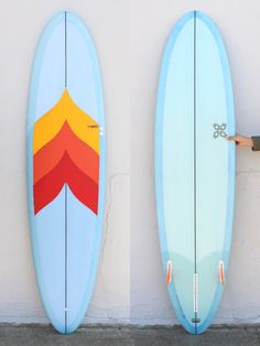 7'6 Travis Reynolds Egg. I want this in rainbow (or blue yellow green indigo) :)