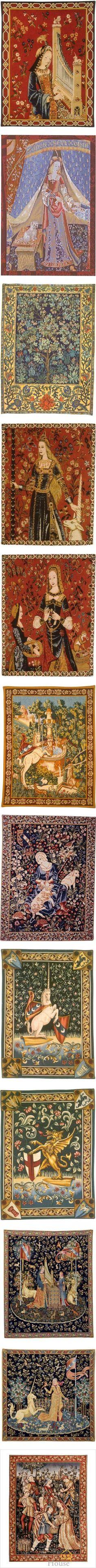 """""""Medieval Tapestries"""" by savagedamsel ❤ liked on Polyvore"""