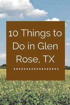 Things to do in Glen Rose, TX