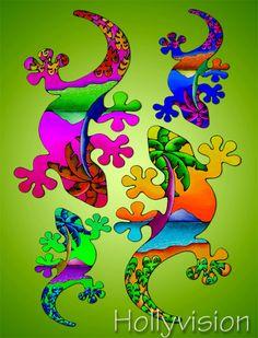 geckos- love geckos