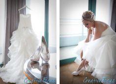 © Creative Focus Photography #bride #wedding #dress