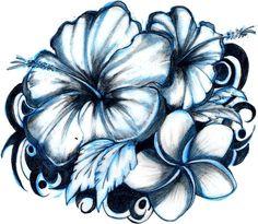 https://www.askideas.com/media/39/3D-Hawaiian-Flowers-Tattoo-Design.jpg