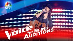 """The Voice 2016 Blind Audition - Adam Wakefield: """"Tennessee Whiskey"""""""