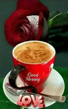 Good Morning Coffee, Good Morning Love, Coffee Cups, Tea Cups, Chocolate, Grilling, Tumblr, Mugs, Tableware