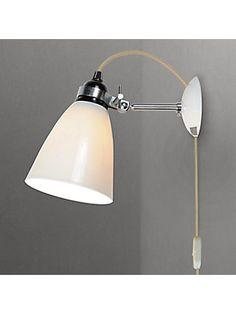 BuyOriginal BTC Hector Dome Wall Light, Medium Online at johnlewis.com