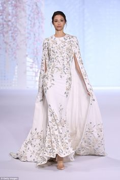 Spring 2016.   Paris couture: The Ralph & Russo show was a success at Paris Haute Couture Fashion Week this week