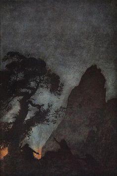 Arthur Rackham - L'anneau des nibelungen
