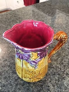Vintage Frie Onnaing French pitcher