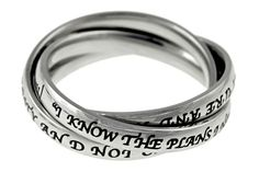 """Triple Band """"I Know The Plans"""" on SonGear.com - Christian Shirts, Jewelry"""