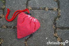 chrissibag: Faltbare Einkaufstasche! - perfekt für den kleinen Einkauf