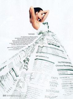 【Same or Not】不是在辦家家酒:Moschino 白色糖果紙婚紗禮服 Look×9
