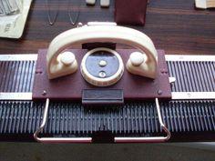 Vintage Knittax knitting machine- standard guage