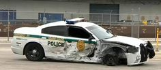 Another police car, this one protecting a Cabinet member, stolen . Rescue Vehicles, Police Vehicles, Emergency Vehicles, Old Police Cars, Car Badges, Things Happen, Car Crash, Law Enforcement, Ems