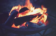 Check out Fire Pit by PepPhelan on Creative Market