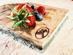 Colorful Fruit, Butcher Block Cutting Board, Kitchen Design, Strawberry, Restaurant, Breakfast, Instagram Posts, Food, Morning Coffee