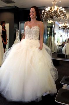 1000 images about behind the scenes on pinterest cake for Mon amie wedding dresses