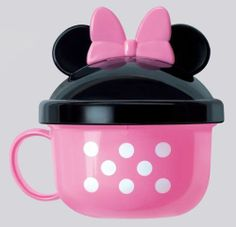 Disney Minnie Mouse snack cup for Baby From JAPAN J701 0769