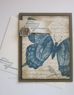 Butterfly Card - Stampin' Connection
