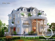 Settings - YouTube Beautiful House Plans, Simple House Plans, Dream House Plans, Beautiful Homes, Luxury Homes Dream Houses, Luxury House Plans, Classic House Exterior, Modern House Facades, Architectural House Plans