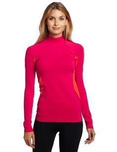 Columbia Women's Base Layer Midweight Mock Neck Long Sleeve Shirt by Columbia. $38.46. Featuring a mock neck for added coverage and to keep the draft out, this midweight top is the ideal all-day baselayer for aerobic activity, with thermal reflectivity for lightweight warmth and sweat-wicking inserts.