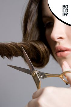 Trim your hair regularly to cut off split ends, they make your hair look thinner and can split your hair all the way to the root Hair Thickening Spray, Thin Hair Cuts, Look Thinner, Split Ends, Hair Looks, Hair Type, Hair Growth, Your Hair, Cool Hairstyles