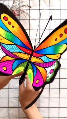 Instruções Origami, Paper Crafts Origami, Paper Crafts For Kids, Craft Activities For Kids, Preschool Crafts, Diy For Kids, Fun Crafts, Summer Activities, Diy Paper