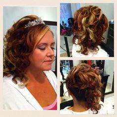Bride updo Updos, Dreadlocks, Hairstyles, Bride, Beauty, Up Dos, Haircuts, Wedding Bride, Beleza