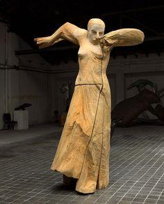 Francisco Leiro_bailaora Galería Marlborough Madrid y Barcelona